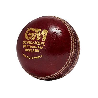 Gunn & Moore Chevron Swing Leather Cricket Ball