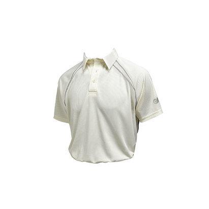 Gunn & Moore Premier Club Short Sleeve Cricket Shirt - Senior