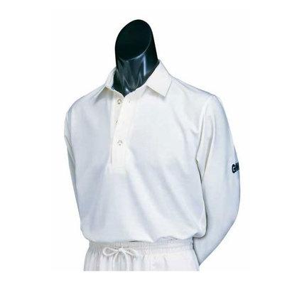 Gunn & Moore Premier Club Long Sleeve Junior Cricket Shirt