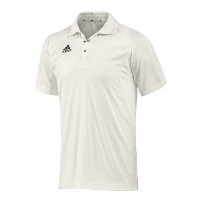 adidas Short Sleeve Cricket Shirt Junior Boys