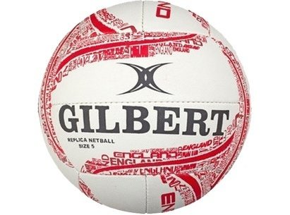 Gilbert England Netball Replica Supporter Mini Ball