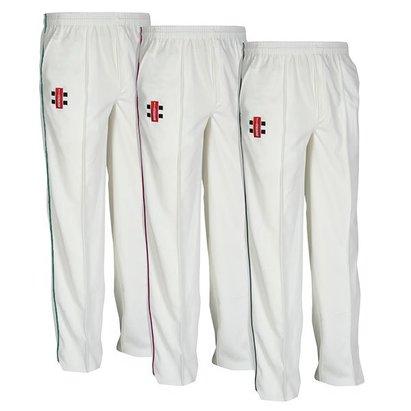 Gray-Nicolls Matrix Trimmed Junior Cricket Trousers