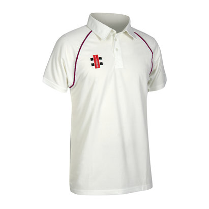 Gray-Nicolls Gray Nicolls Matrix Trimmed Junior Cricket Shirt