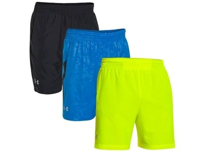 Under Armour Running Mens HeatGear SS15 Launch 7in Woven Shorts