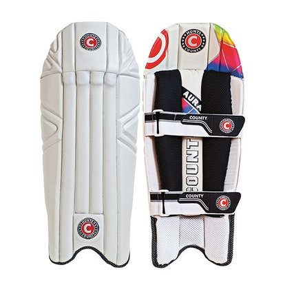 Hunts County AURA Cricket Wicket Keeping Pads