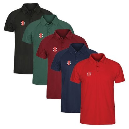 Gray Nicolls Matrix Junior Short Sleeve Cricket Shirt