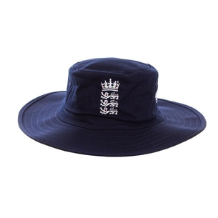 adidas England Cricket Replica Blue Sun Hat