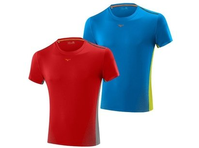 Mizuno 15 Mens Drylite Cooltouch Running T-Shirt
