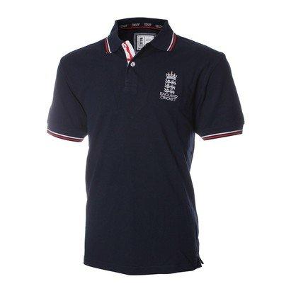 England Cricket Classic Pique Polo 2015