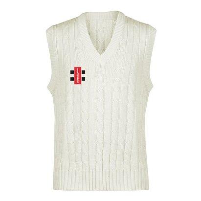 Gray-Nicolls Gray Nicolls Knitted Acrylic Cricket Sleeveless Slipover - Senior