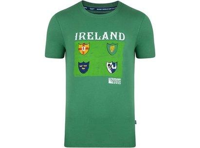 RWC15 Ireland IRFU Shield T-Shirt