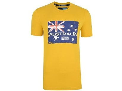 RWC15 Country Collection Australia Flag T-Shirt