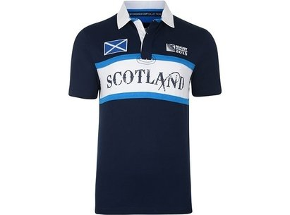 RWC15 Country Collection Scotland Flag Rugby Shirt