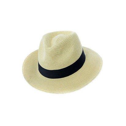 Barrington Sports Fedora Panama Sun Hat - Foldable