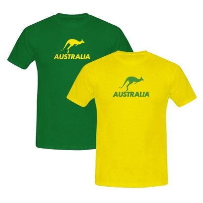 Sports Graphics Australia Kangaroo T-Shirt - Womens