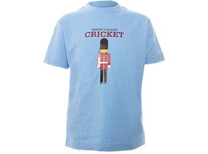 Sports Graphics England Queens Guard Cricket Junior T-Shirt