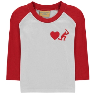 Baby Toddler Love Cricket Long Sleeve T-Shirt