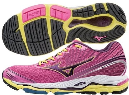 Mizuno AW15 Womens Wave Paradox 2 Running Shoes - Structured Cushion / Max Support