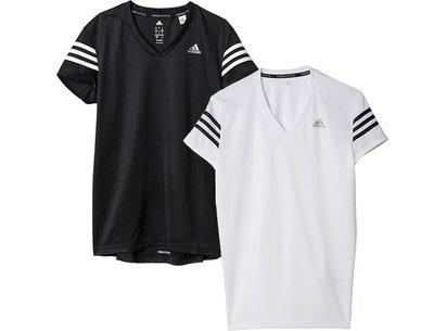 adidas 15/16 Womens Response Cap Sleeve Running T-Shirt