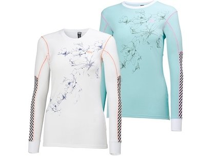 Helly Hansen ACTIVE Flow Womens Long Sleeve Top - Floral