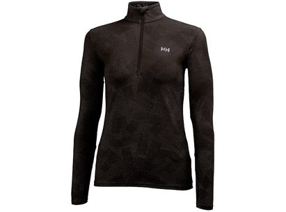 Helly Hansen Womens ASPIRE NORVIZ 1/2 Zip Long Sleeve Top