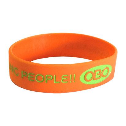 OBO 3/4 Inch Silicone Wristband