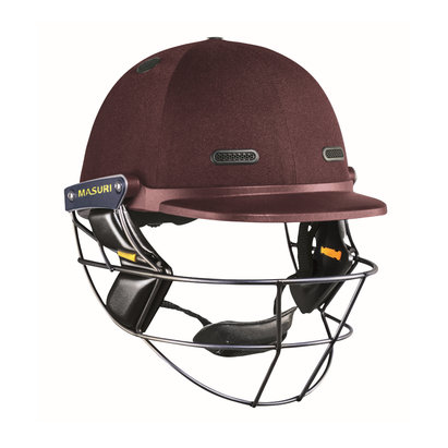 Masuri Vision Series TEST JUNIOR Cricket Helmet Steel Grille