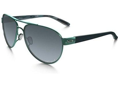 Oakley DISCLOSURE Womens Polarised Sunglasses -  Peacock / Grey Gradient Polarised