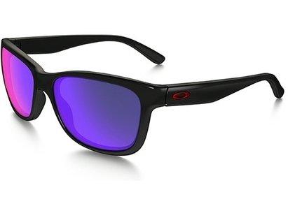 Oakley FOREHAND Womens Sunglasses - Polished Black / Positive Red Iridium