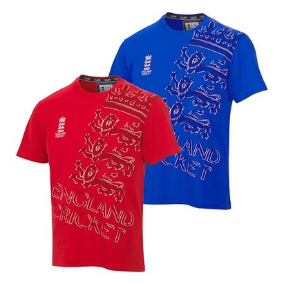 England Cricket Classic Scribble T-Shirt