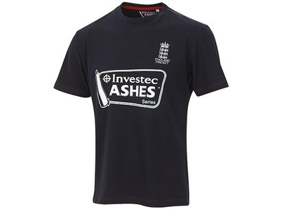 England Cricket Investec Ashes England Supporter T-Shirt - Mens