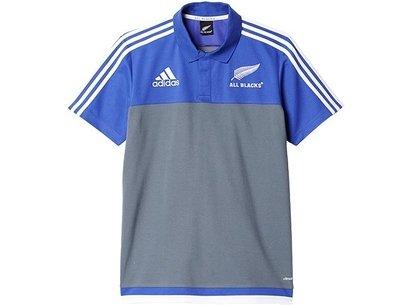 adidas New Zealand All Blacks Replica Anthem Polo Shirt