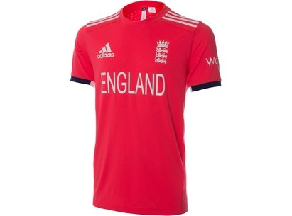 adidas 2016 England Cricket T20 Junior Replica Cricket Shirt