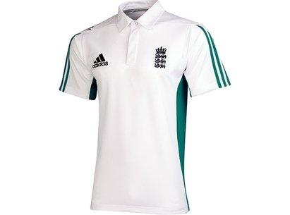 adidas 2016 England Cricket Replica Mens Polo Shirt