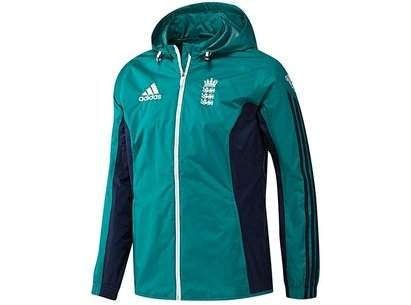 adidas 2016 England Cricket Replica All Weather Rain Jacket