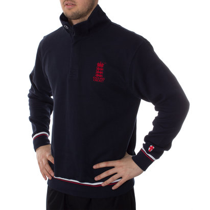 England Cricket Classic Button Neck Sweater