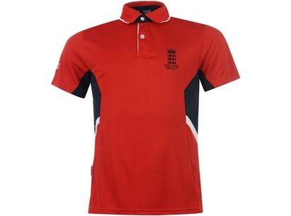 England Cricket Classic Poly Polo Shirt