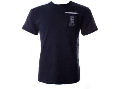 England Cricket Classic Small Logo T-Shirt 2016