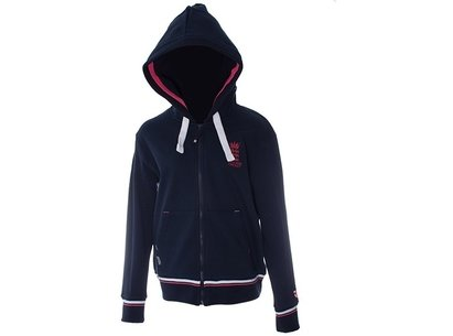England Cricket Classic Full Zip Womens Hoody
