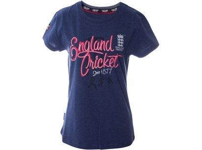 Cricket Classic Crew Neck T Shirt Womens