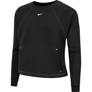 Nike Luxe Fleece Crew Sweatshirt Ladies
