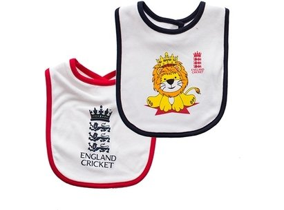 England Cricket Classic Infants Bibs