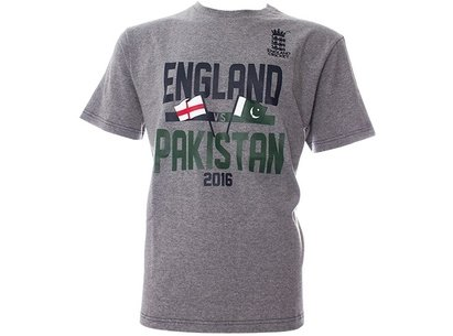 England Cricket Pakistan Series Supporter T-Shirt