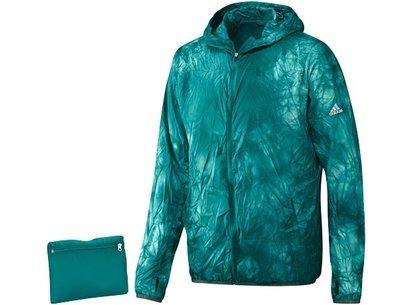 adidas SS16 Mens Kanoi Pack Dye Packable Run Jacket