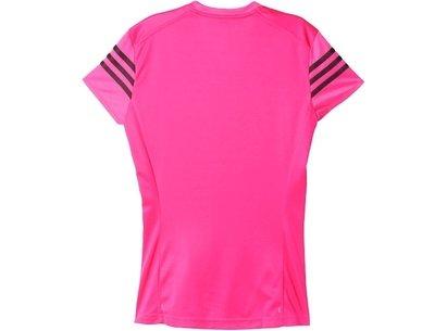 SS16 Womens Response Running Cap Sleeve T-Shirt
