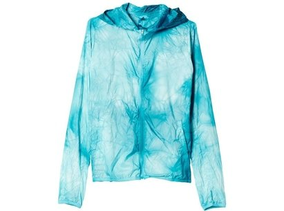 adidas SS16 Womens Kanoi Pack Dye Packable Run Jacket
