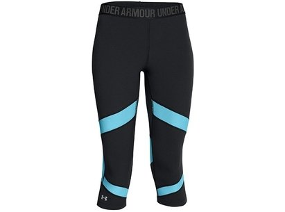 Under Armour Run Womens CoolSwitch Compression Capri Tight