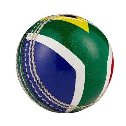 Hunts County Flag Cricket Ball - South Africa