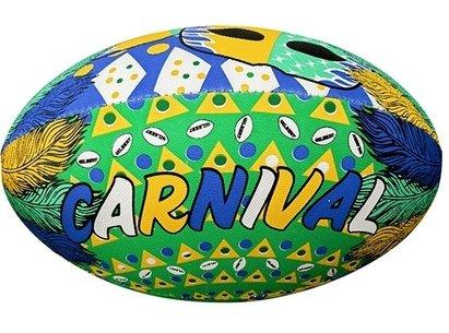 Gilbert Randoms Supporter Rugby Ball - Brazil Carnival