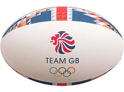 Gilbert Team GB Supporter Rugby Ball - Midi